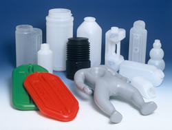 blow mold plastic